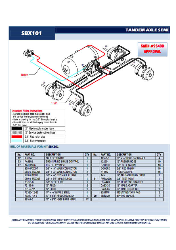 Semi Air Brake Diagram : Semi trailer brake diagram product wiring diagrams