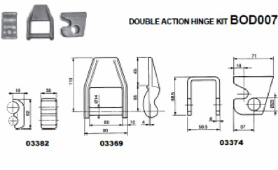 Body Hardware Truck And Trailer Parts